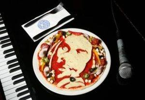 Special Pizza for Music and Celebrities Lovers