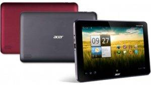 Acer Iconia Tab A200 in February, the first images