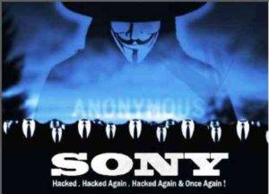 Anonymous Threaten Again The Sony on Support SOPA