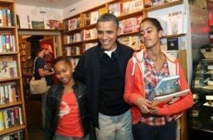 Obama Shops At Kramerbooks