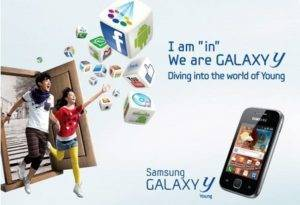 Samsung Introduced the GALAXY Y Smartphone with Two SIM-Cards
