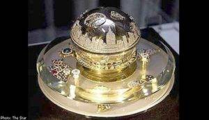 The World`s Most Expensive perfume bottle
