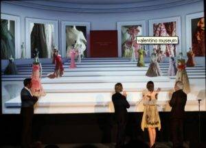 Valentino, The Fashion Show Goes 3D
