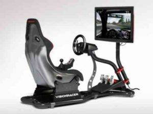 VisionRacer VR3 eDrive- A Complete Racing Simulator in Your Living Room