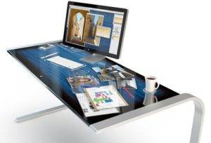 Apple Intelligent Table iDesk- The Concept of Apple Surface