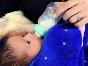 Babies Learn to Speak by Reading Lips
