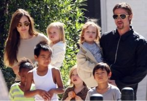 Brad Pitt is Worried About His Little Princes