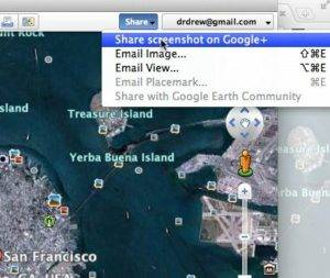 Google Earth Gets Integrated Version with Social Networking