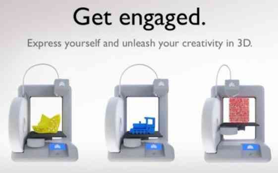 The 3D Systems brings 3D printer app for Kinect at CES