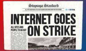 The Protest has Won-The SOPA is Postponed