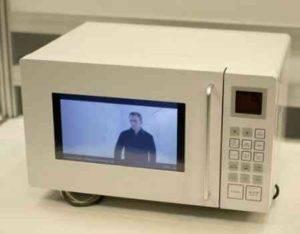 Watch YouTube Video on the Door of Microwave Owen