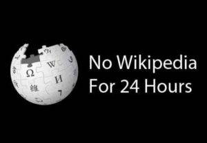 Wikipedia Closes for the Day to Protest Against SOPA