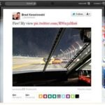 A NASCAR Driver Tweet a Photo Taken From His Car During the Race