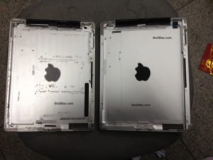 Broadcast images of alleged iPad 3