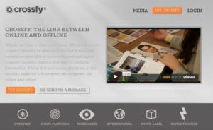 Crossfy - linking content printed with digital content
