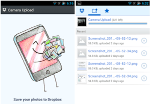Dropbox 5GB free gift if you try a beta version Camera Upload