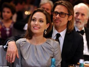Extraordinarily Beautiful Angelina with Longtime Lover Brad Pitt