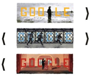 Google has Experimented Three Doodle in One Concept