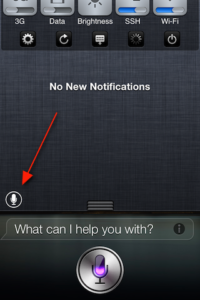 How to Add Shortcut for Siri in Notification Center using SiriLaunch Jailbreak Tweak