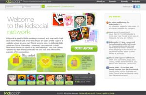 Kidsocial- Now the Safe Social Network for Your Kids