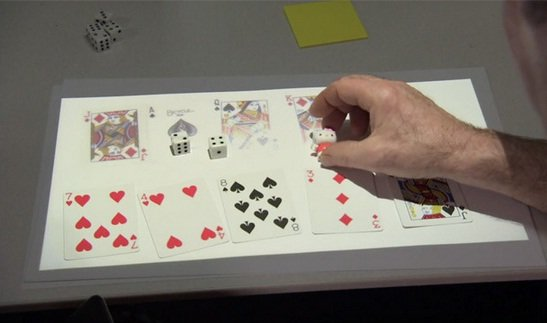 Microsoft IllumiShare - Remote Physical Interaction is Possible