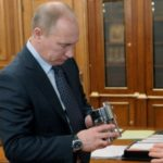 Putin got a Flask with Oldest Water of the Earth from the Lake Vostok