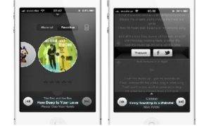 """Singit"" Application to Enjoy the Lyrics of Your Music in IOS"