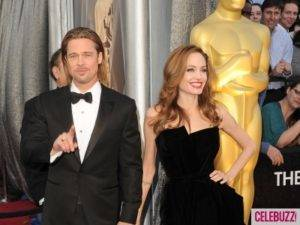 The Look of Angelina Jolie on the Red Carpet at Oscars 2012