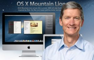 Tim Cook Talks About OS X Mountain Lion and Mac OS X Future