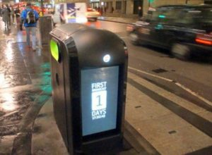 Why not Advertise On Recycling Bins Wide Screen