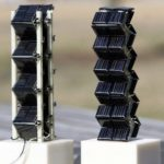 3D Tower Solar Cell Panel