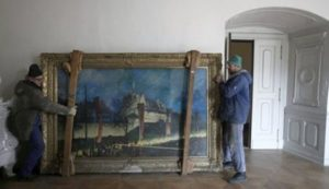 A Lost Collection Of Hitler Painting Is Now Discovered 3