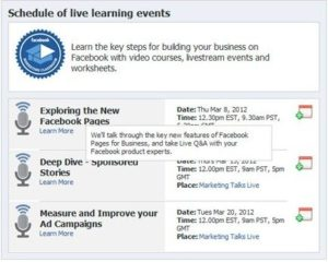 Facebook Offers Classes in Marketing