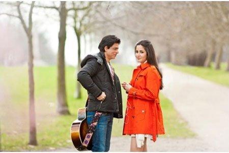 First Look of Shahrukh Khan and Katrina Kaif Upcoming Movie