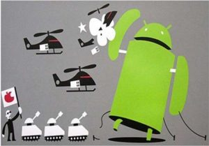 Google Android Vs Apple iOS