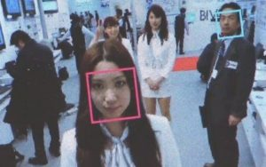 Hitachi's Camera Recognize a Person