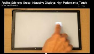 Microsoft Touchscreen With A Remarkable Latency