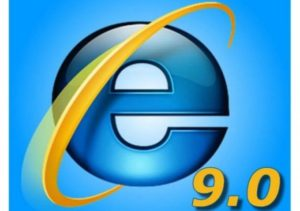 New ad for IE 9