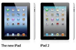 New iPad vs iPad 2