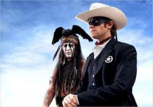 The Lone Ranger- First image of Johnny Depp and Armie Hammer