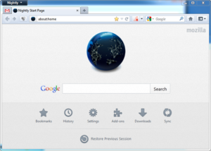 This will be the New Home Page of Firefox