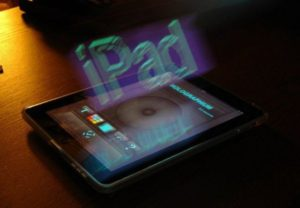iPad 3 Haptic Display
