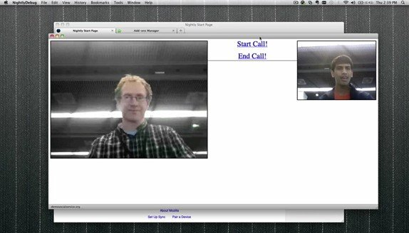 Mozilla Video Chatting