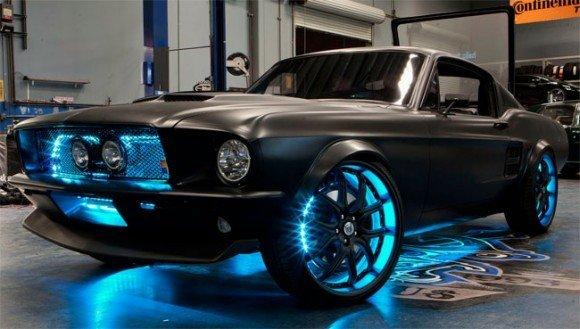 New High Tech Mustang