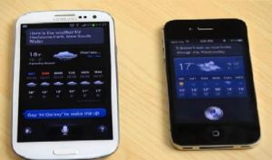 Apple Siri vs Samsung S-Voice (Video)