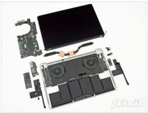 iFixit Has Disassembled the New MacBook Pro Generation 1