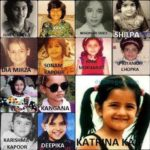 Which Bollywood Actress was Beautiful in Her Childhood! 2