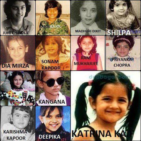 Which Bollywood Actress was Beautiful in Her Childhood! 7