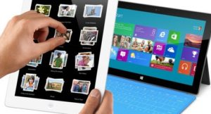 Surface vs. iPad - That the Challenge Begins 1