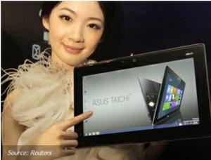 ASUS Showed a Mixture of the Tablet and Ultrabuka 1